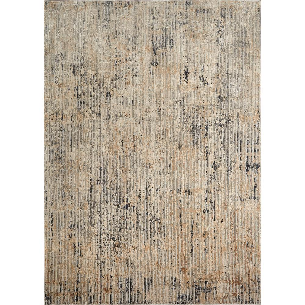 Kenmare Elson Gray/Beige 5 ft. 3 in. x 7 ft. 2