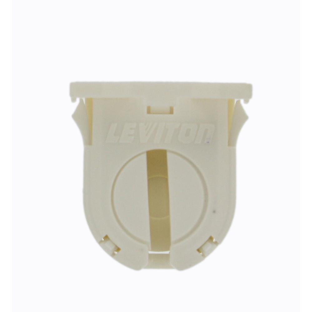 660W Short Profile Small Bi-Pin Lamp Center for T-8 Lamps Snap-In