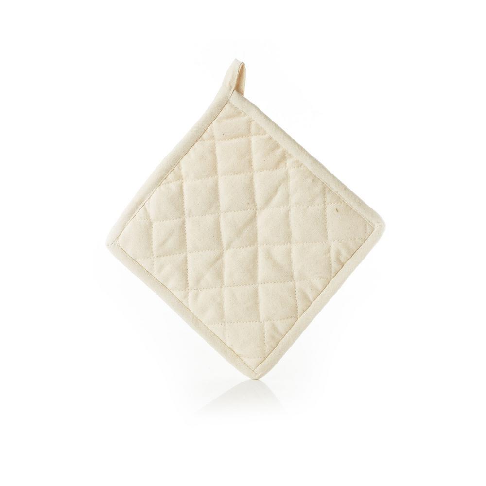 Organic Cotton Natural Hot Pad