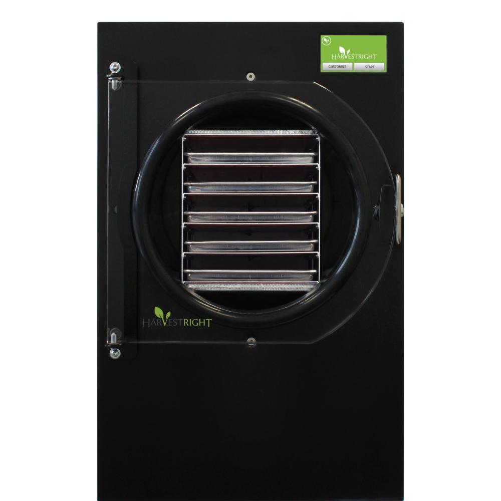 5-Tray Large Black Aluminum Freeze Dryer with Mylar Starter Kit