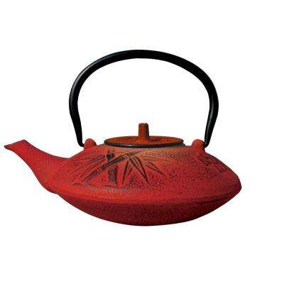 Sakura 3-Cup Teapot in Red