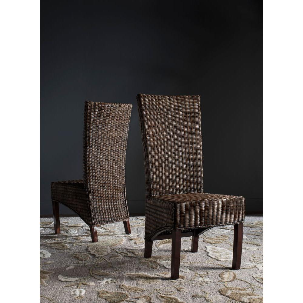 Wicker - Chairs - Living Room Furniture - The Home Depot