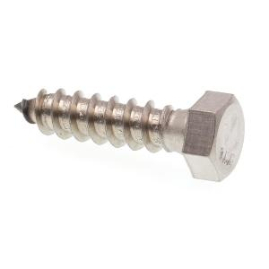 25 Qty 1//4 x 1 304 Stainless Steel Hex Lag Bolt Screws BCP1173