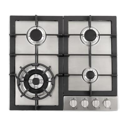 Cosmo 24 in. Gas Cooktop in Stainless Steel with 4 Sealed Burners