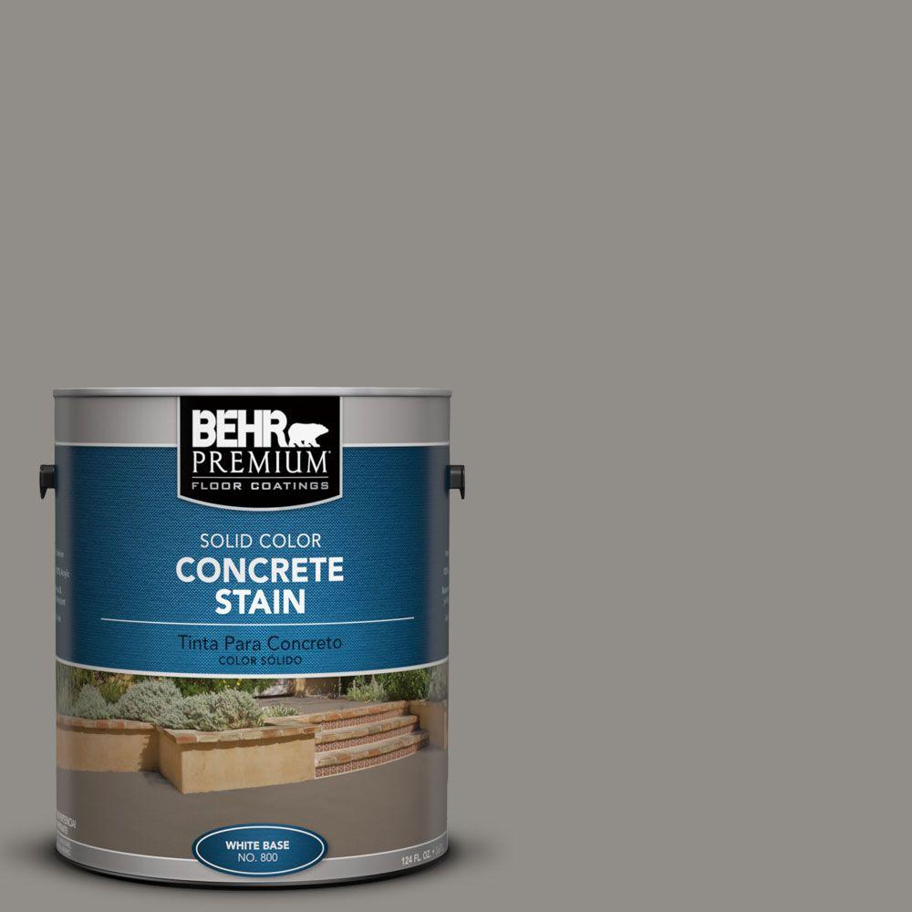 BEHR Premium 1 gal. #PFC-69 Fresh Cement Solid Color Interior/Exterior Concrete Stain