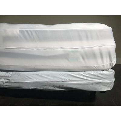 Hygea Natural Bed Bug Box Spring Cover or Mattress Cover VINYL Waterproof Box Spring Encasement in Size Queen