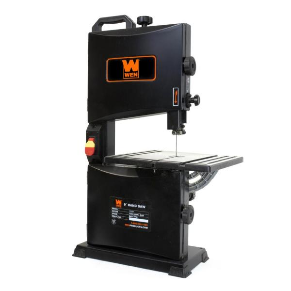 Wen 2 8 Amp 9 In Benchtop Band Saw 3939t The Home Depot