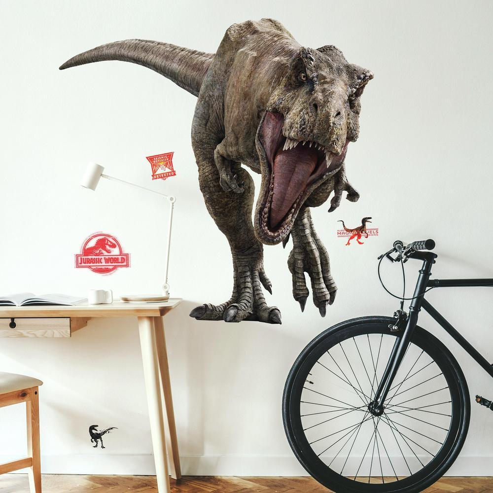 Jurassic World 2 T-Rex Giant Wall Decal