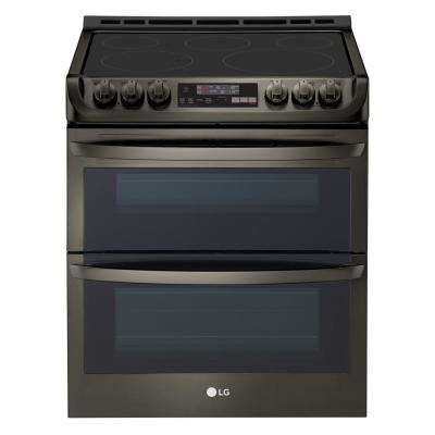 7.3 cu. ft. Double Oven Electric Range with Self-Cleaning and Convection in Stainless Steel