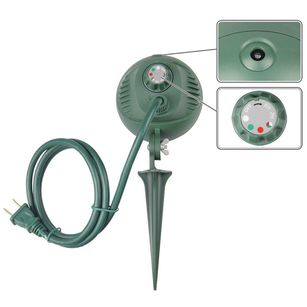 Power Zone Floodlight Kit 6/' Green 2 Pack