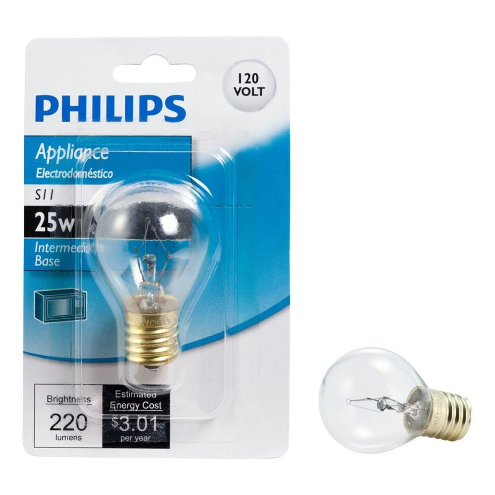 Philips 25 Watt S11 Incandescent High Intensity Light Bulb 416701 The Home Depot