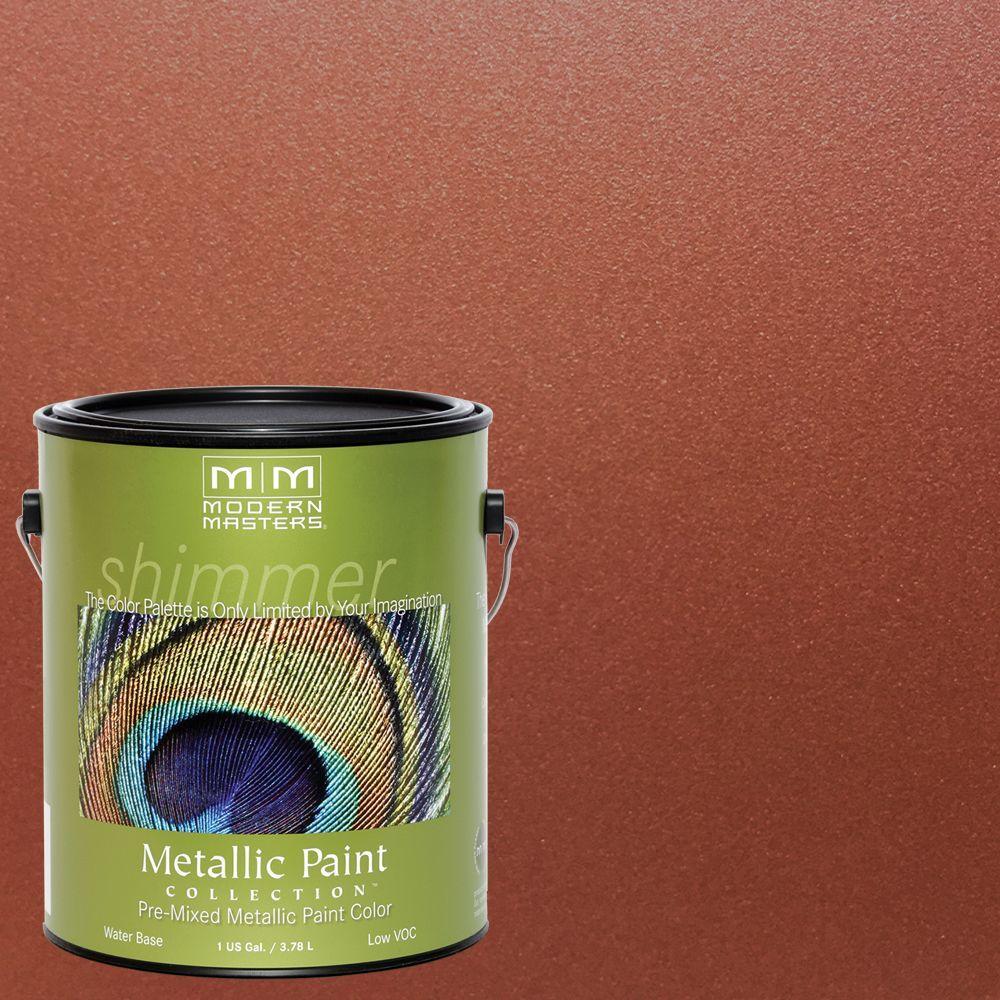 1 gal. Antique Copper Metallic Interior/Exterior Paint