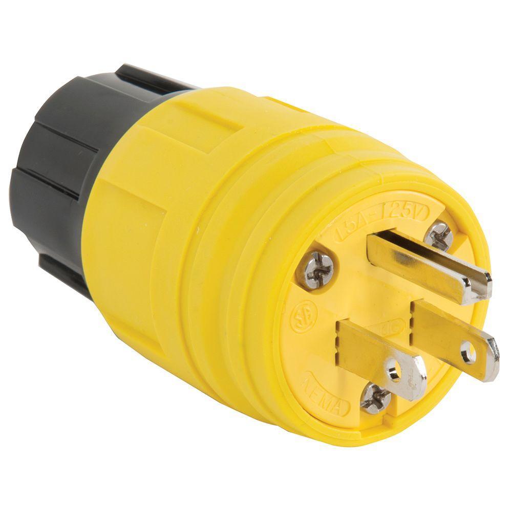 Pass & Seymour 15 Amp 125-Volt NEMA 4X Watertight Plug
