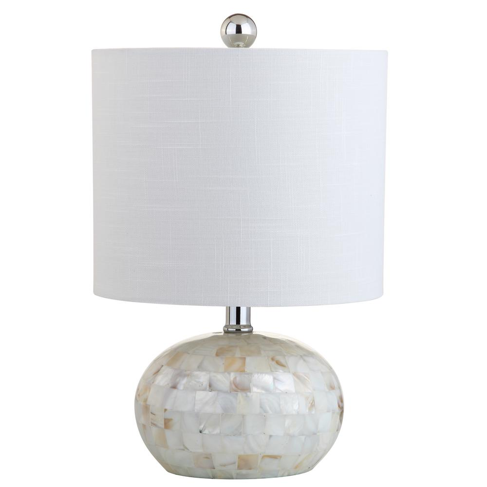 Ivory Seashell Table Lamp