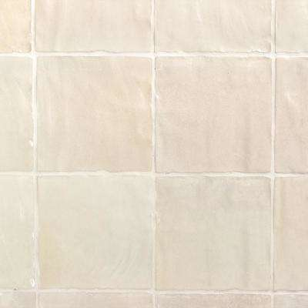 Amagansett Cream 4 in. x 4 in. 9mm Satin Ceramic Wall Tile (5.38 sq. ft. / box)