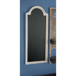 New Traditional Arched White Wooden Chalkboard by