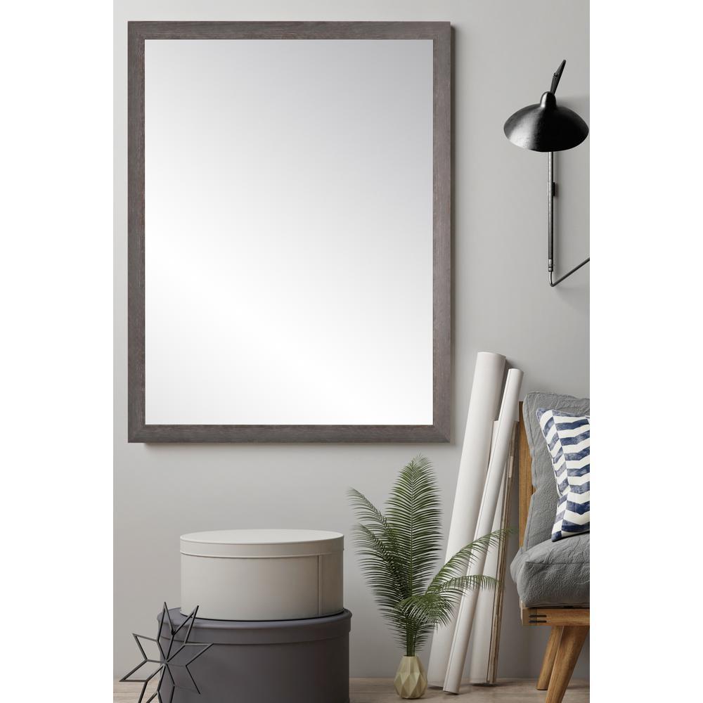 Ash Gray Farmhouse Accent Mirror