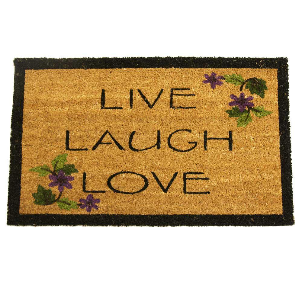Doormat keep the change you filthy animal doormat photographs : Rubber-Cal Wipe Your Paws 30 in. x 18 in. Dog Door Mat-10-106-027 ...