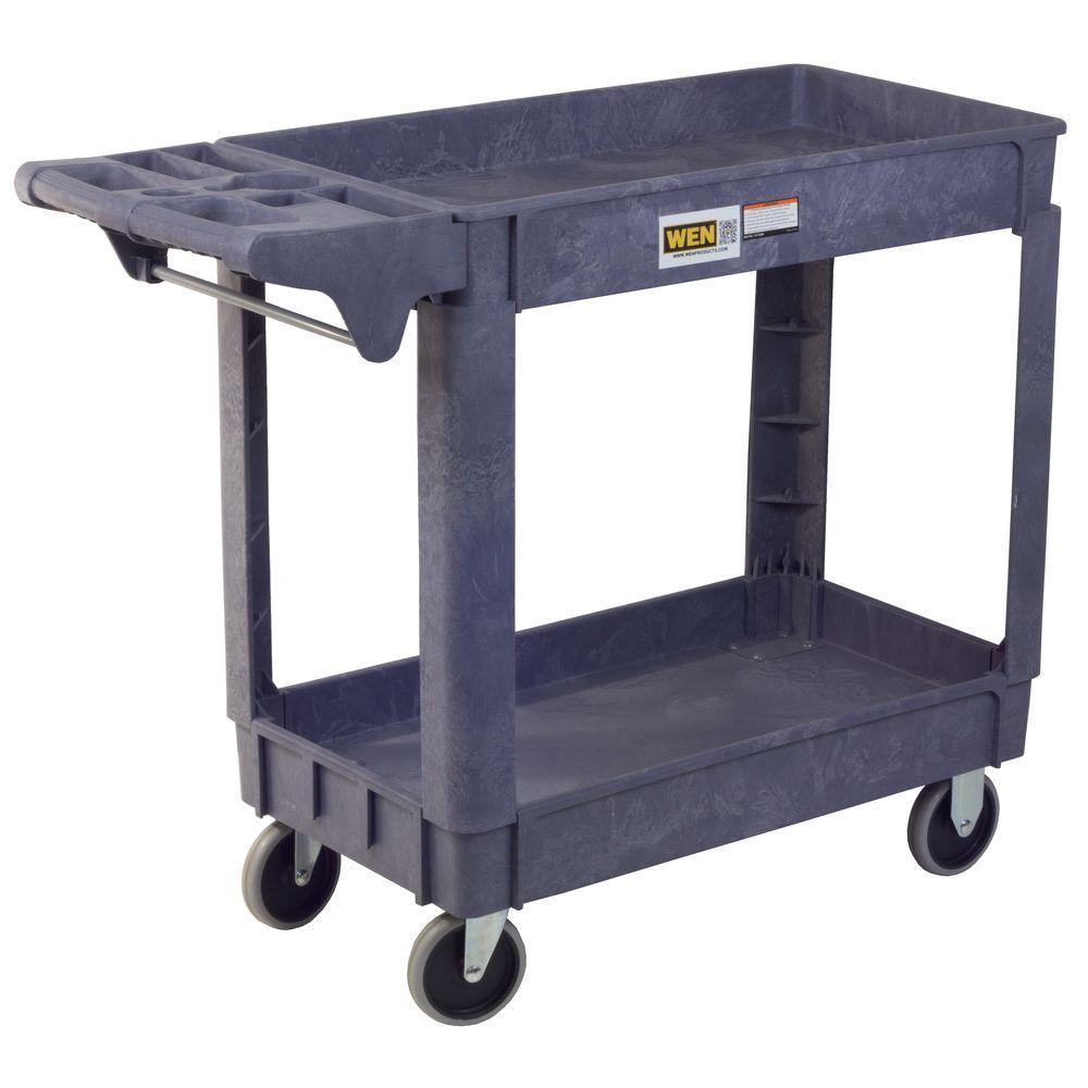 WEN 500 lbs. Capacity 46 in. x 16 in. Standard Service Utility Cart