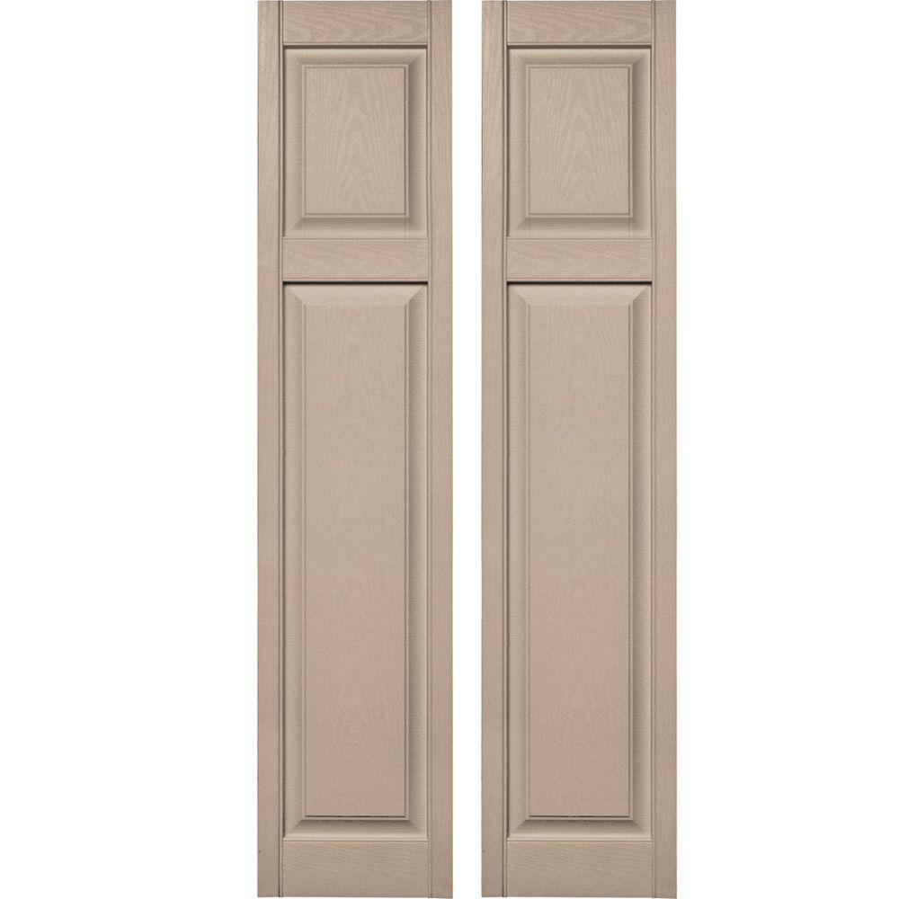 Builders Edge 15 In X 67 In Cottage Style Raised Panel