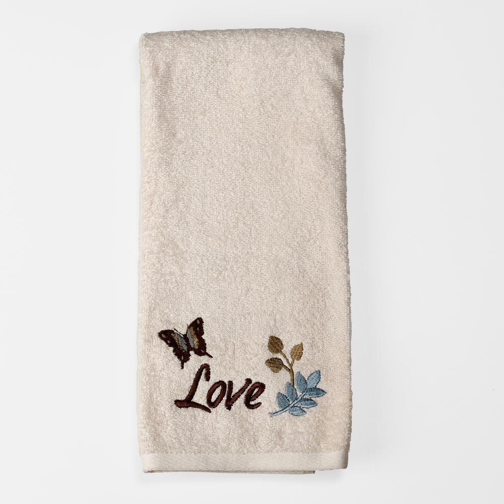 Faith Freestanding Fingertip Towel in Ivory