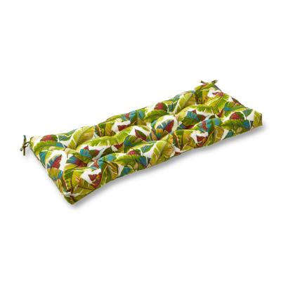 Palm Leaves Multi-Rectangle Outdoor Bench/Swing Cushion