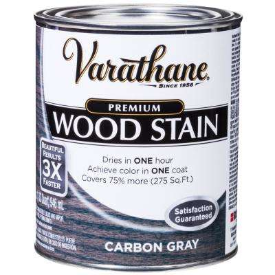 1 qt. Carbon Gray Premium Fast Dry Interior Wood Stain