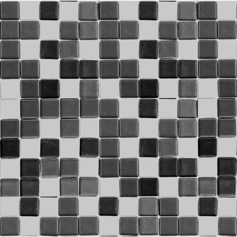 Epoch Architectural Surfaces Teaz Tea Blend-1204 Mosaic Recycled Glass 12 in. x 12 in. Mesh Mounted Floor & Wall Tile (5 sq. ft. / case)
