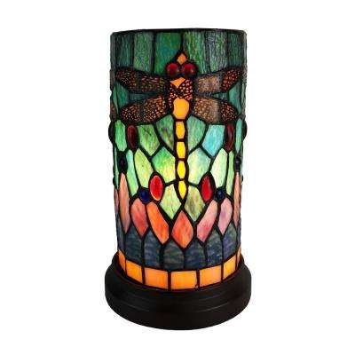 10.5 in. Tiffany Style Accent Table Lamp