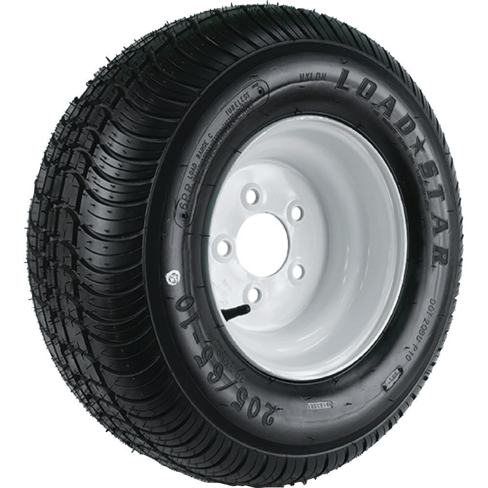 Loadstar 215/60-8 K399 Bias 780 lb. Load Capacity White 8...