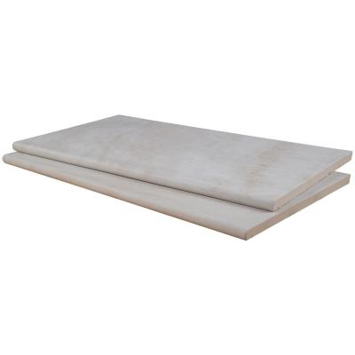 Praia Crema 13 in. x 24 in. x 0.8 in. Brown Porcelain Pool Coping (26-Piece/56.33 Sq. Ft./Pallet)