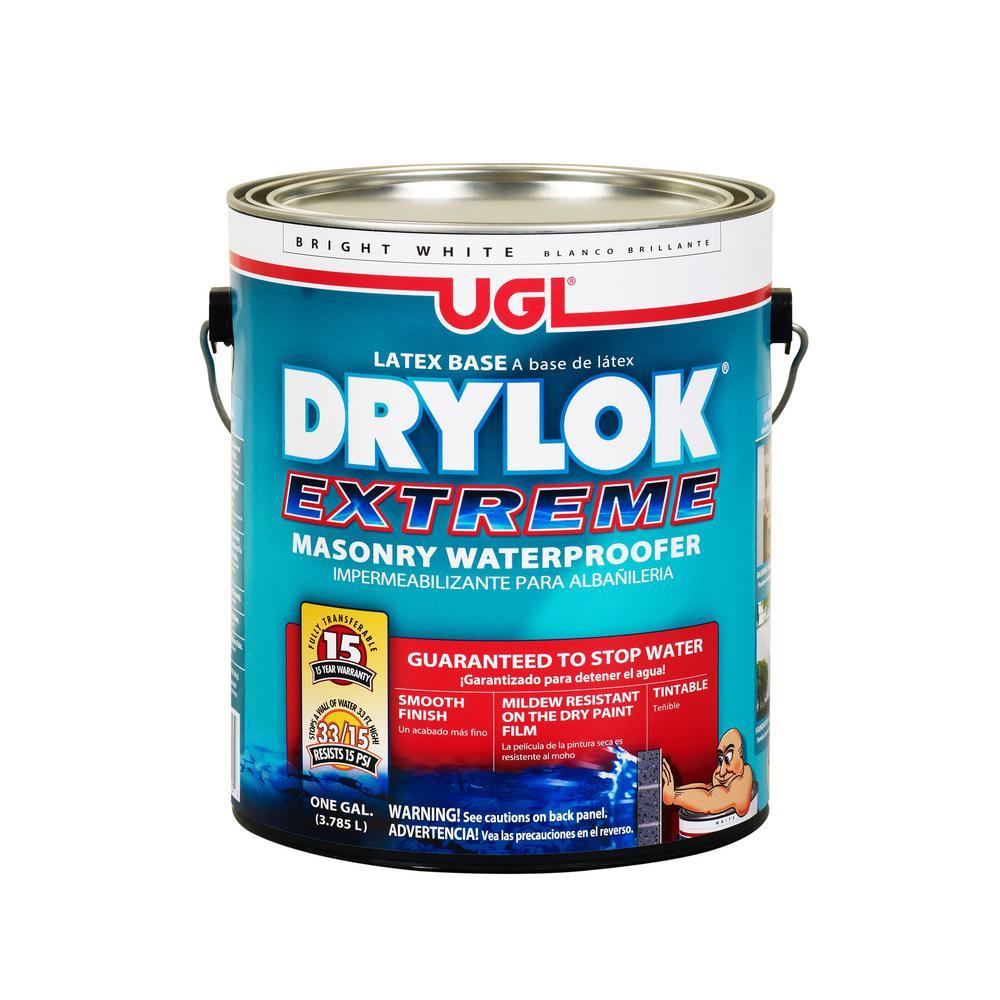 United Gilsonite Laboratories 1 gal. White Drylok Extreme...