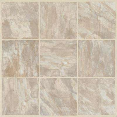 Walnut Hill Sand 12 in. x 12 in. Residential Peel and Stick Vinyl Tile Flooring (45 sq. ft. / case)