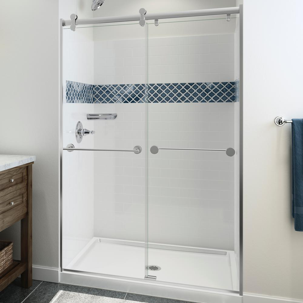 Four piece - Shower Walls & Surrounds - Showers - The Home Depot