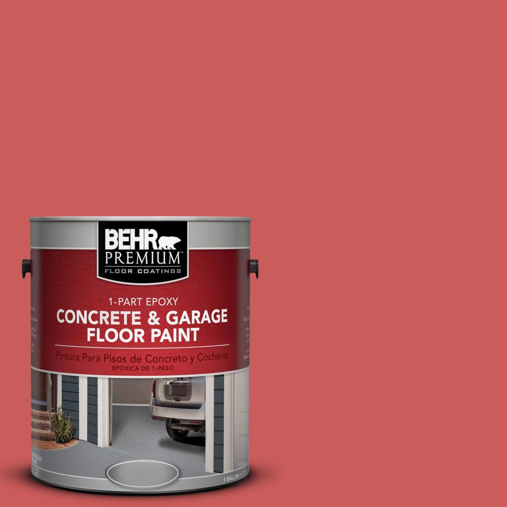 1 gal. #P160-5 Pinkadelic 1-Part Epoxy Concrete and Garage Floor Paint