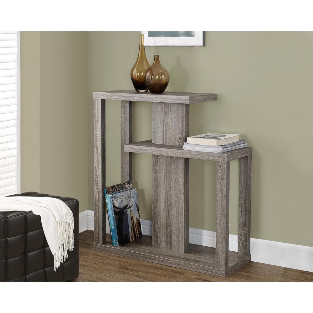 Exceptionnel Monarch Specialties Dark Taupe Console Table