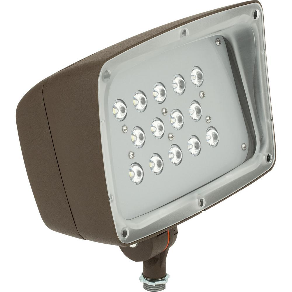 Progress Lighting Bronze Outdoor LED Flood Light-PCOFL
