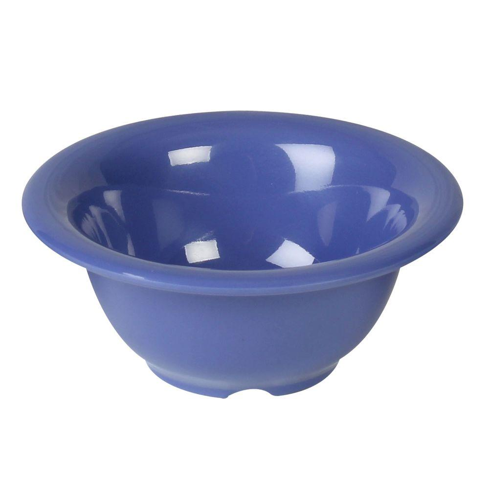 Coleur 10 oz., 5-1/2 in. Soup Bowl in Purple (12-Piece)