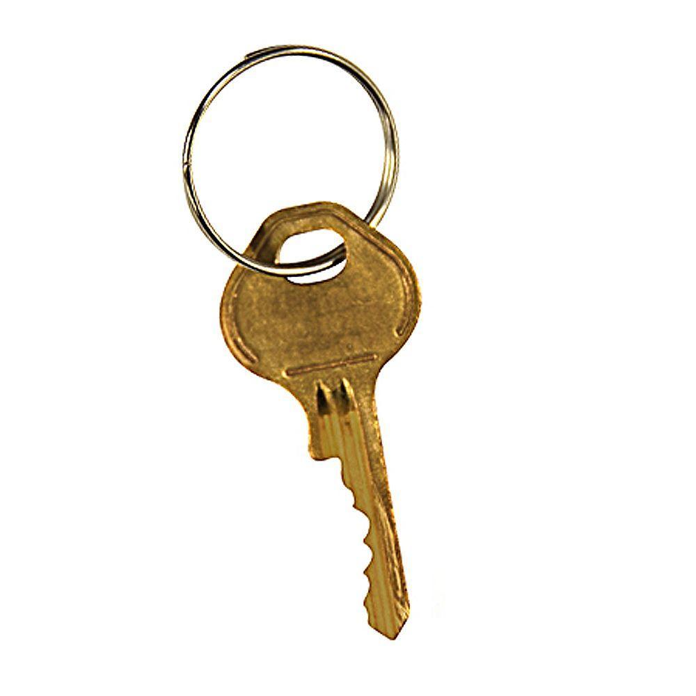 Master Control Key for Metal Locker Door Built-in Combination Lock