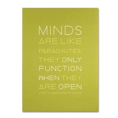 18 in. x 24 in. An Open Mind I Canvas Art