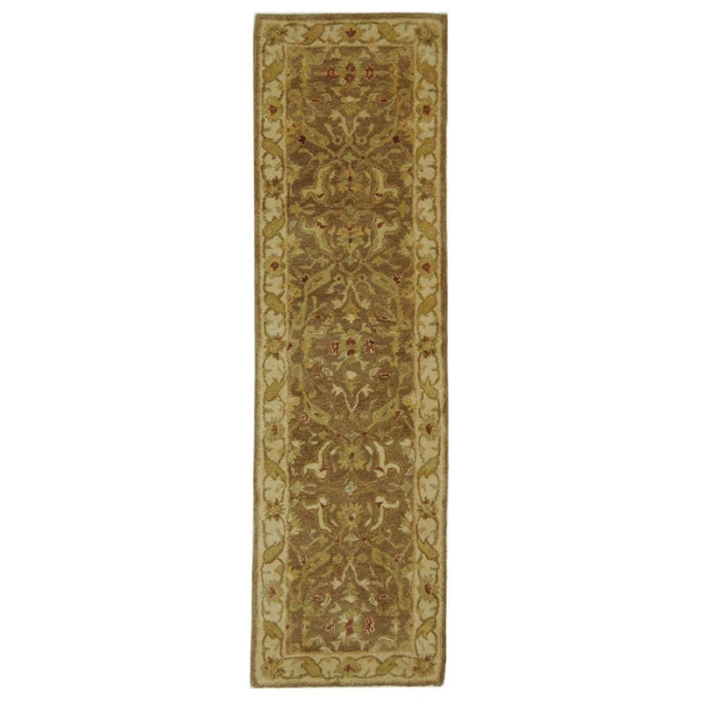 Antiquity Brown/Gold 2 ft. 3 in. x 12 ft. Runner