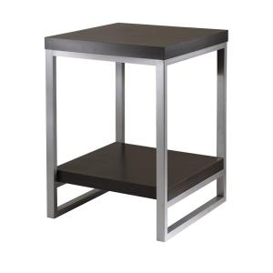 Winsome Wood Jared Espresso End Table by Winsome Wood