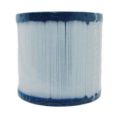 4000 Series 4-1/4 in. Dia x 4 in. 10 sq. ft. Replacement Filter Cartridge with 2-1/16 in. Opening