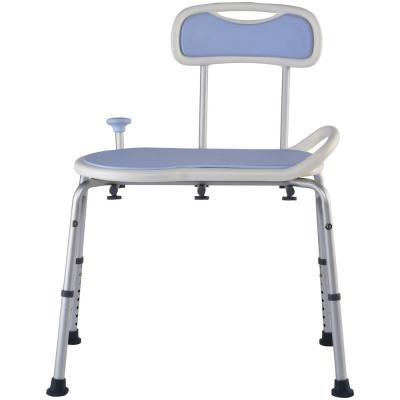Enjoyable Drive Padded Seat Transfer Bench With Commode Opening Ibusinesslaw Wood Chair Design Ideas Ibusinesslaworg