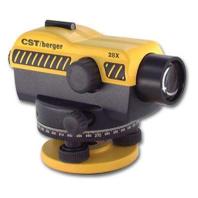350 ft. 28X SAL 11 in. Series Exterior Automatic Level