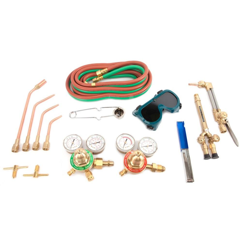 Medium Duty Oxygen Acetylene Deluxe Victor Type Torch Kit