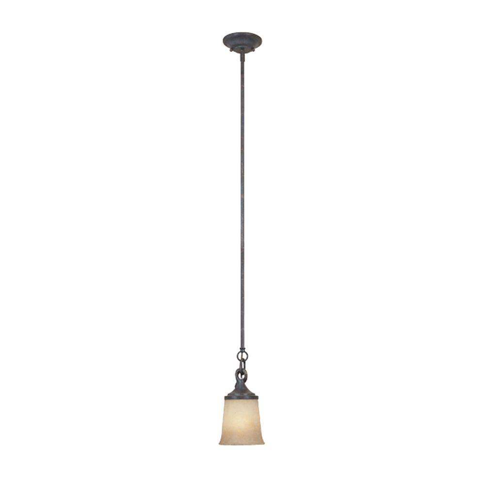 LiteChoice Portland Collection 1-Light Brushed Nickel