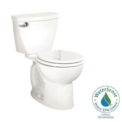 Cadet 3 Powerwash Tall Height 2-piece 1.28 GPF Single Flush Round Toilet in White