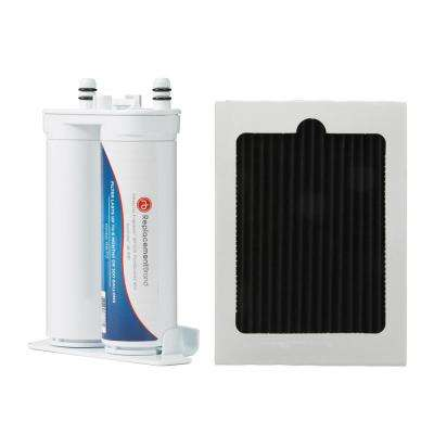 Refrigerator Replacement Water Filter for Frigidaire WF2CB, PureSource2 and Kenmore 46-9911 with Air Filter