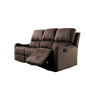 Harris Reclining Sofa Brown